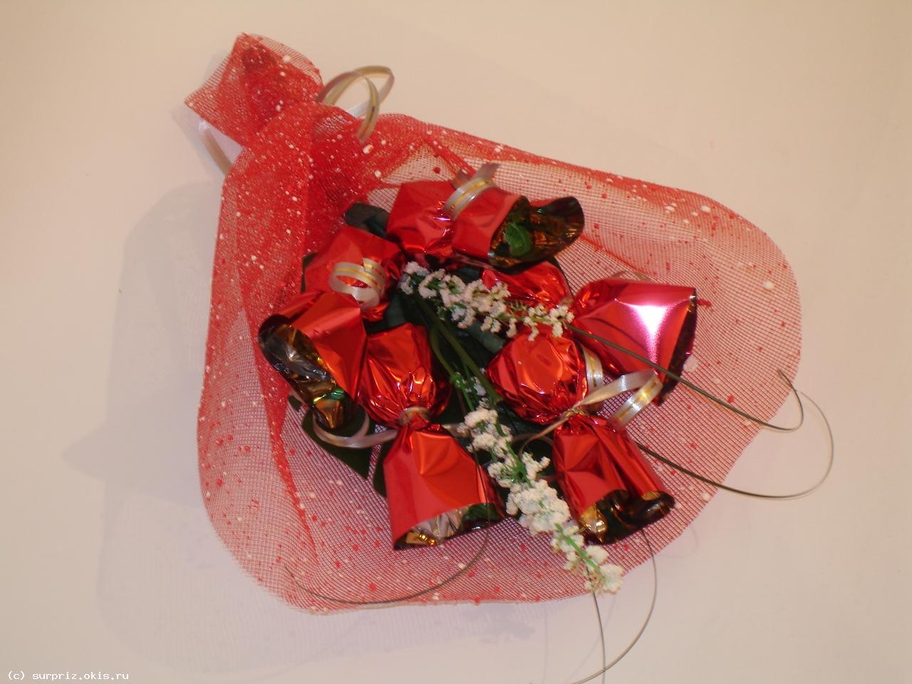 Сетка для букетов цветов фото